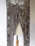 Legginsy Srebrne Szare Risoe M 38 Rurki Tregginsy Spodnie...