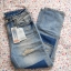 Pull and Bear jeansy girlfriend destroyed łaty