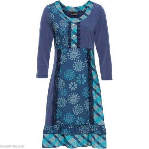 Suknie i sukienki Sukienka w stylu boho wzory falbanki i koronka