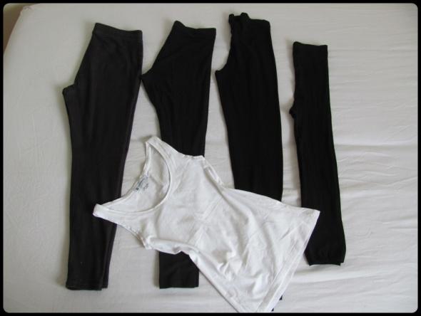 Mały zestaw ubrań 36 S H&M Szachownica i inne...