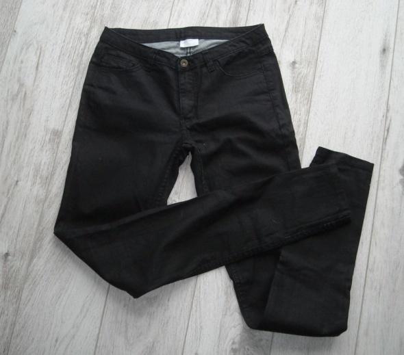 Spodnie czarne jeansy vila xs