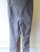 Spodnie Tregginsy Szare H&M Mama M 38 Rurki Ciąża...