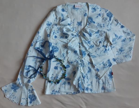 Koszula damska z falbanami Jackpot rozm 36