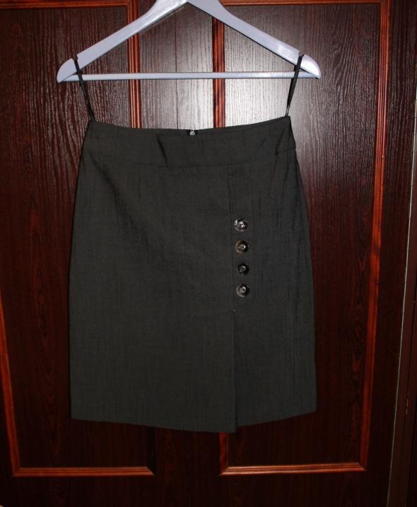 Szara elegancka spódnica