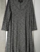 Sukienka reserved luźny krój XS