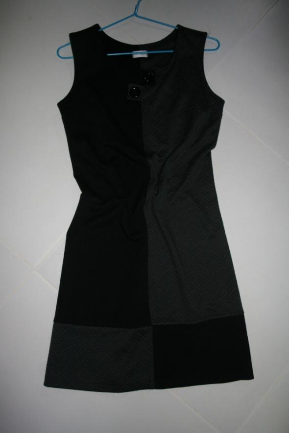 Suknie i sukienki SUKIENKA TUNIKA służbowa do pracy JODEŁKA 38