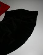 AKSAMITNA atłasowa plisowana guziki 36 38 UK 10...