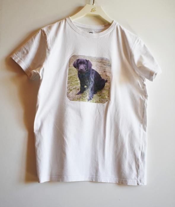 Koszulka z pieskiem dziecięca 13 14 lat Rozm 158 164