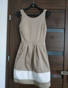 Sukienka beżowa...
