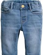 Spodnie jeansy H&M rozmiar 92...
