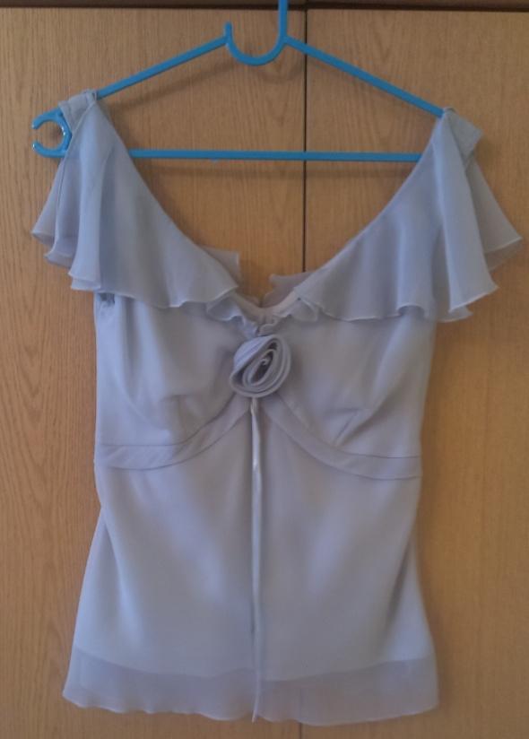 Bluzki Jasnozielona zwiewna bluzka Dorothy Perkins 34