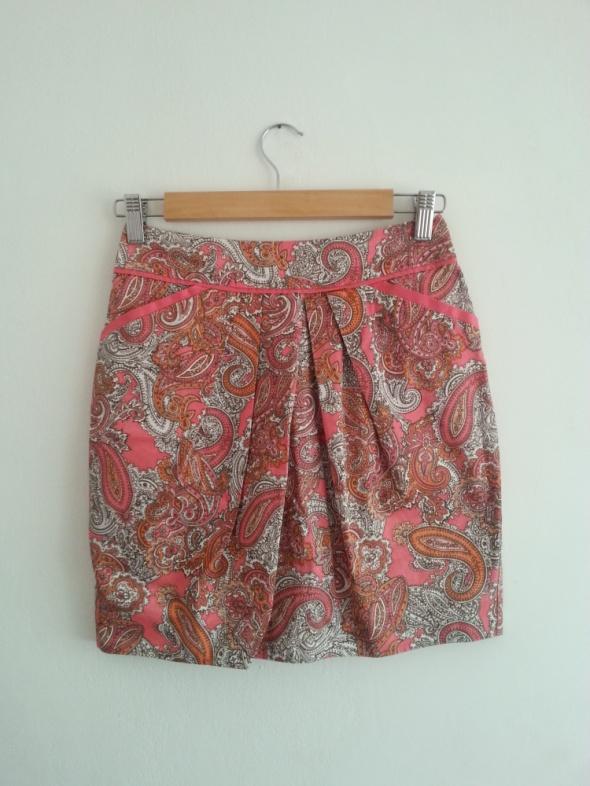 Spódnica ornamenty pastele