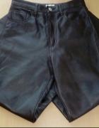 Spodnie brązowe skórzane