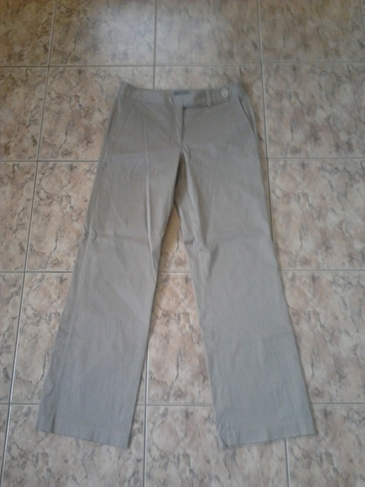 spodnie eleganckie beżowe