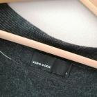 Grafitowa sukienka tunika Vero Moda 36 S kieszenie