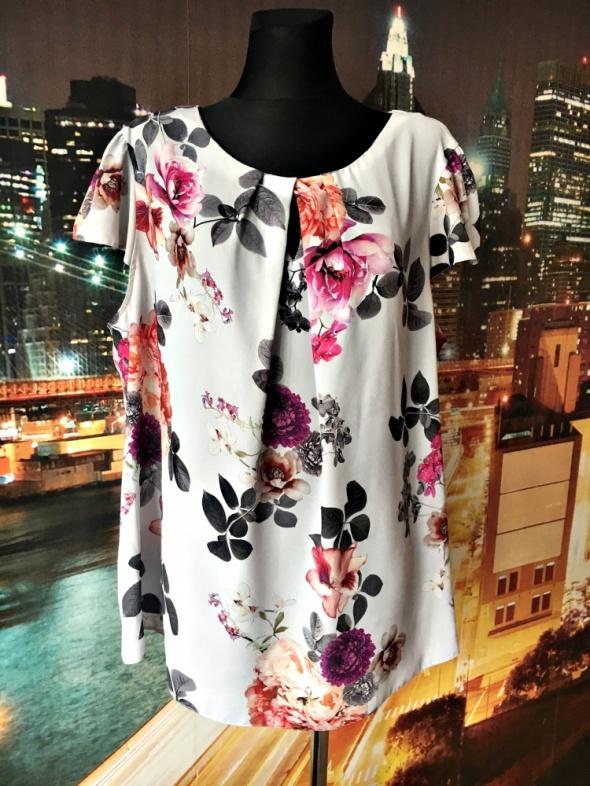 dorothy perkin bluzka jak nowa kwiaty floral hit blog 52