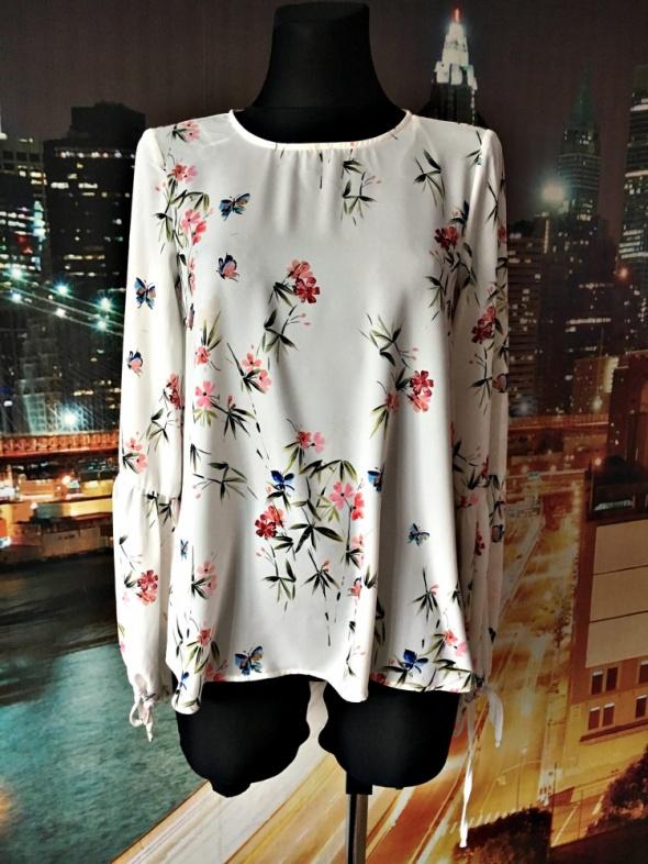 atmosphere bluzka elegancka modny wzór kwiaty motyle jak nowa 3...