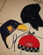Zestaw chłopiec czapka pilotka Kubuś Puchatek Cars...