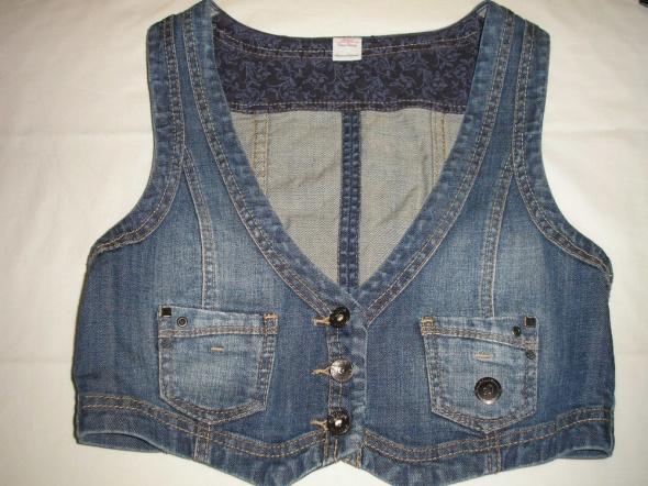 Kamizelka jeans 38 40 s Oliver