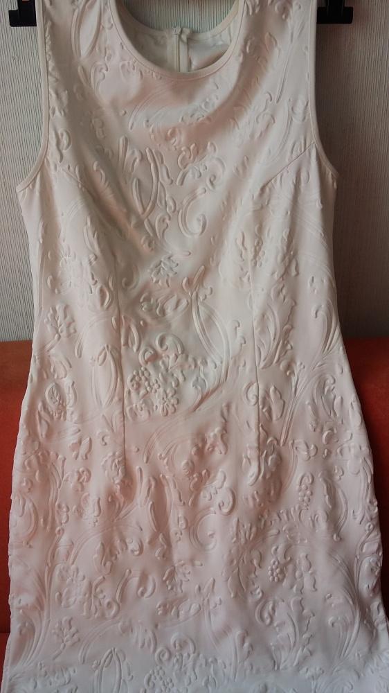 biala sexi sukienka 38