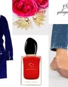 Jesienna stylizacja modnej kobietki...