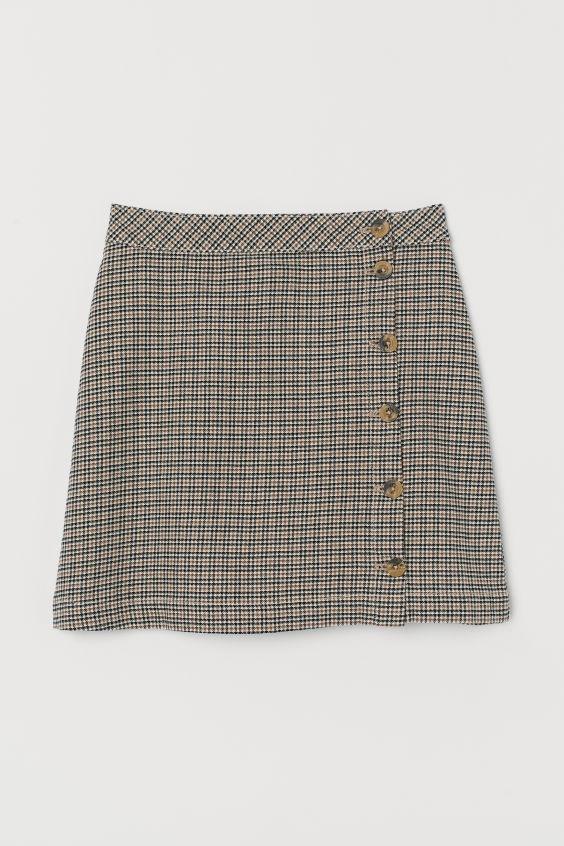 Spódnice Spódnica H&M krata