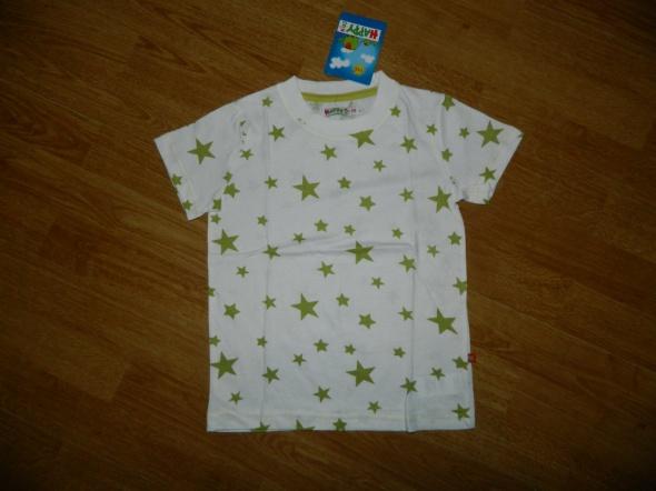 Koszulki, podkoszulki HAPPY KIDS koszulka w gwiazdki roz 116