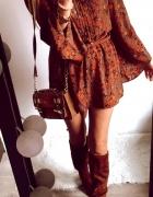 Sukienka Damska w kwiaty TOP SHOP L...