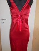 zmysłowa włoska czerwona sukienka...