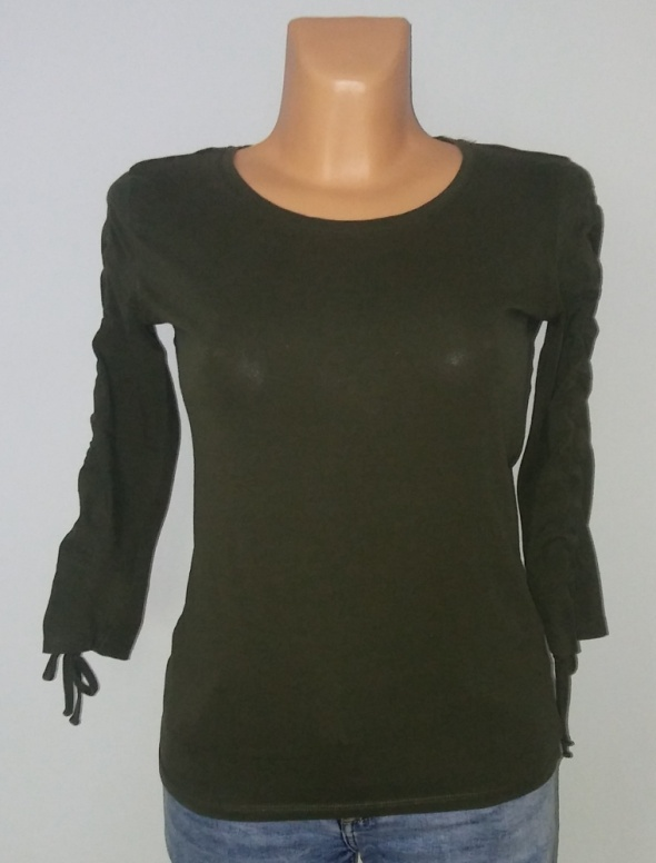Bluzka sweterek Reserved khaki XS...