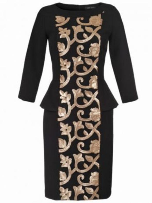 TOP SECRET elegancka sukienka baskinka cekiny roz 36...