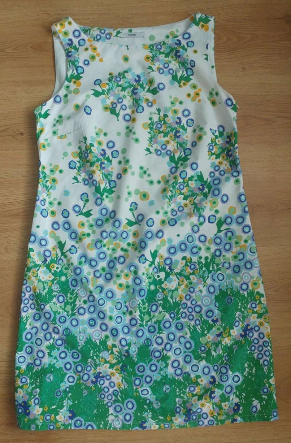 Sukienka kwiaty bawełna George 12 L...