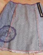 Spódnica wełna tweed D Lite L 40...