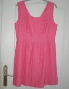 rozm 42 XL ONLY sukienka na lato MALINOWA...