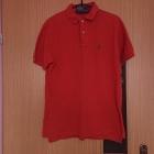 pomarańczowa koszulka polo ralph lauren S