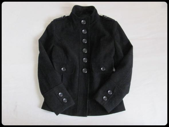 Dorothy Perkins 42 XL wełniana kurtka czarna 69 procent WEŁNA