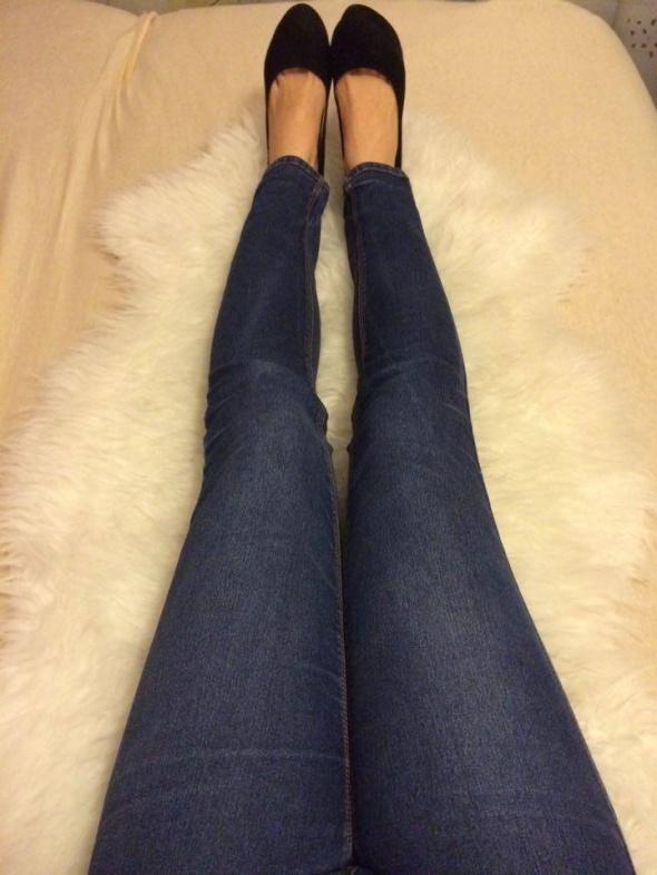 Terranova dopasowane wąskie jeansy rurki dżinsy...