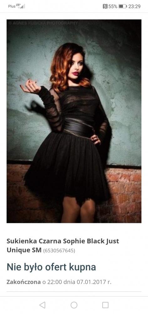 Ubrania Sukienka sophie black L