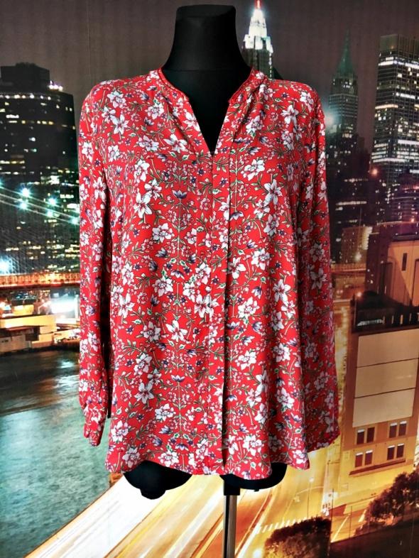 primark bluzka zwiewna modny wzór kwiaty floral hit 48...