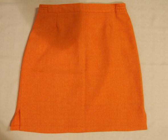 Spódnice Krótka pomarańczowa spódnica