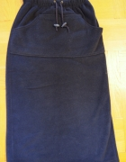 Długa spódnica granatowa