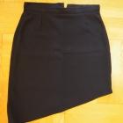 Czarna oryginalna spódnica mini