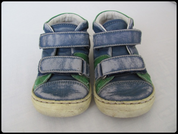 Emel buty trzewiki dla chłopca skórzane rozmiar 23...