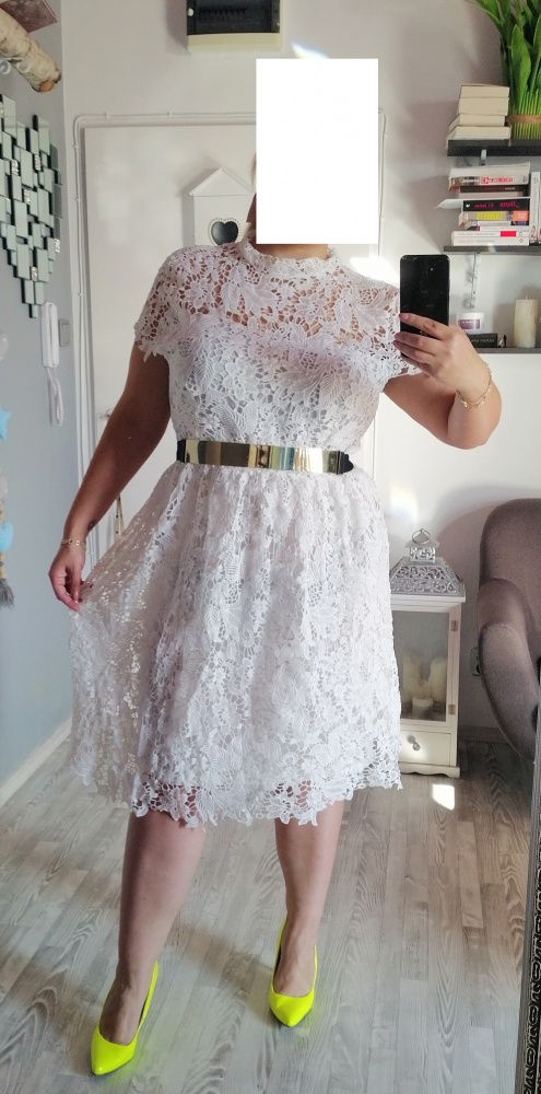 Koronkowa sukienka 48 50 52 54