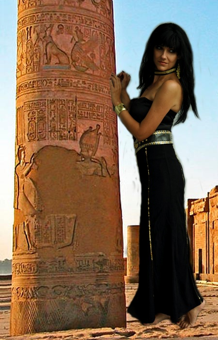 strój Kleopatry