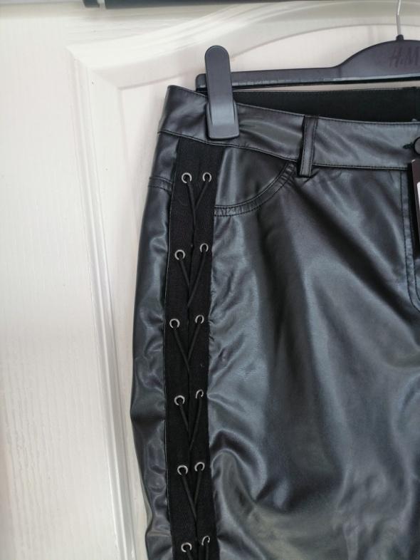 Nowe spodnie ekoskóra 44 46