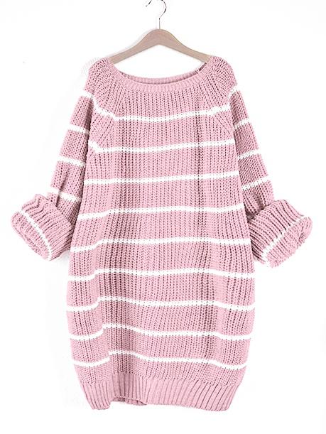 swetr rozowy