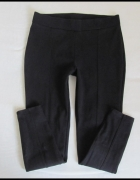 C&A czarne spodnie damskie tregginsy rozmiar 38 M...