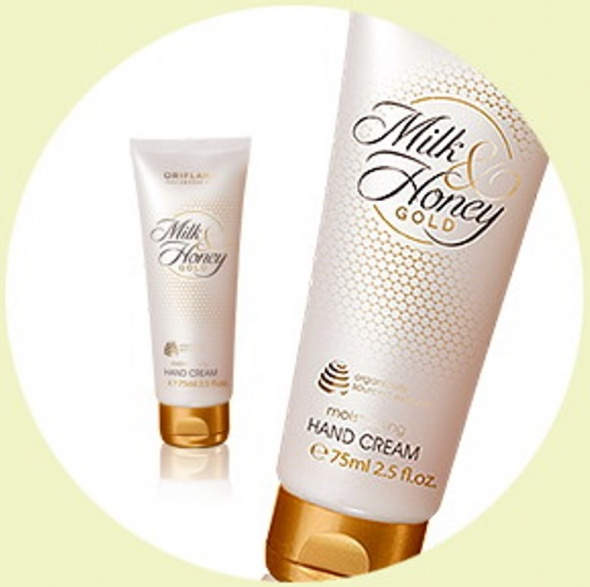 Nowy krem do rak Milk Honey Gold Oriflame