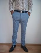 Spodnie wizytowe eleganckie męskie M...